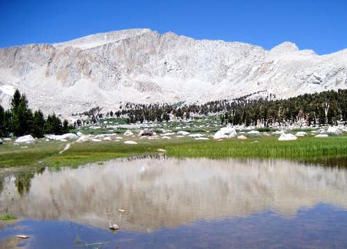 Mt. Langley from first lake