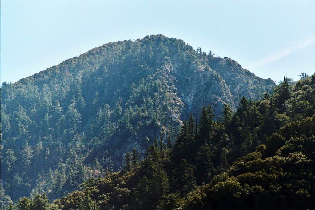 San Gabriel Peak (6,161'), San Gabriel Front Range