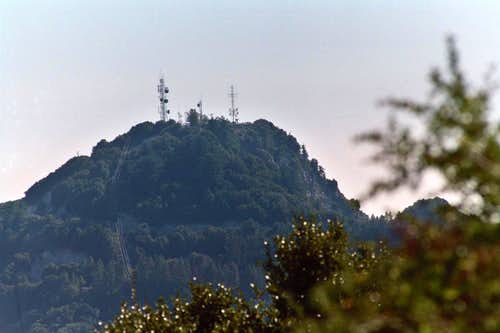 Mt. Disappointment (5,960'), San Gabriel Mtns.