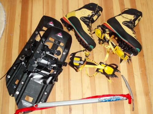Basic Winter Mountaineering Gear