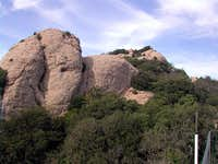 the summit of Sant Jeroni