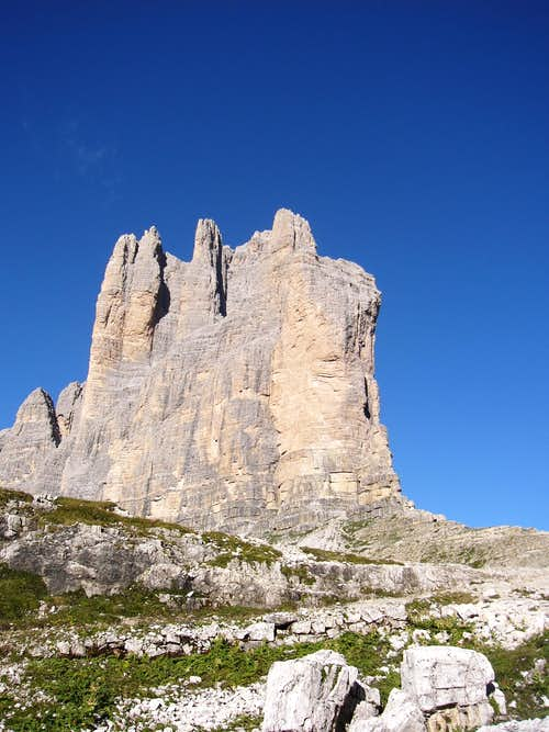 Towards Monte Paterno