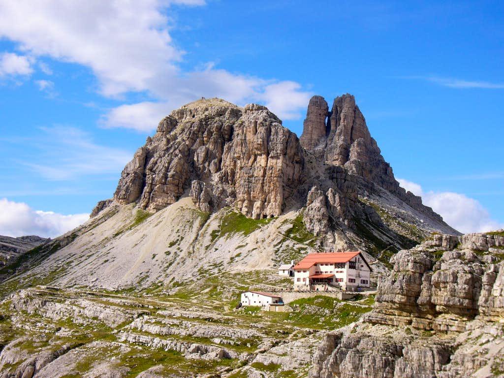 Rifugio Locatelli / Drei Zinnen hutte