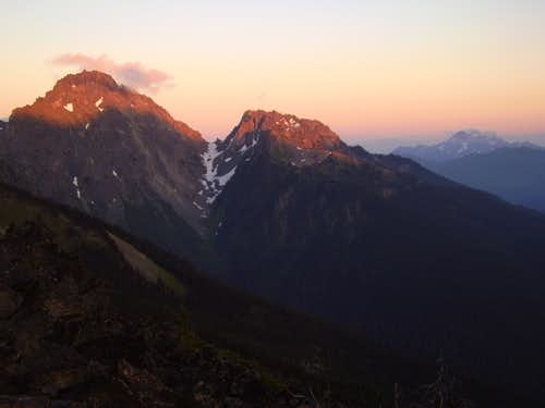 Mount Mystery Sunset