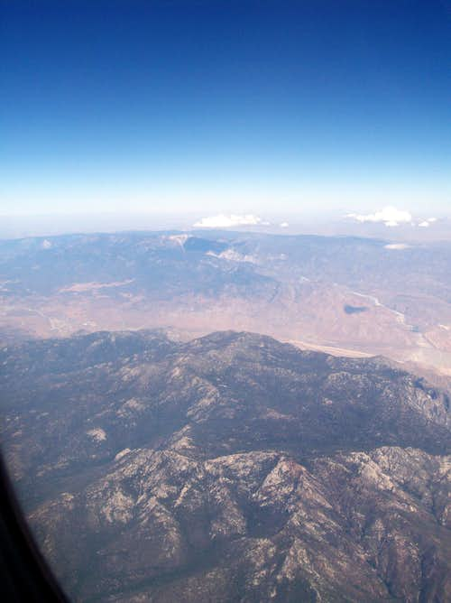 San Jacinto From Above