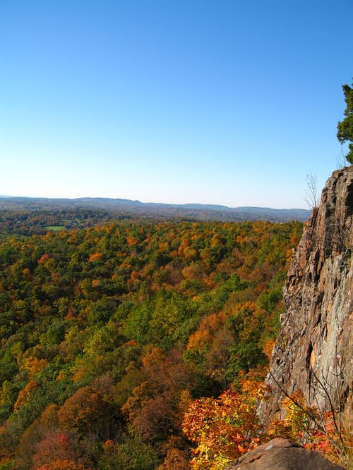 CT fall colors by belay...