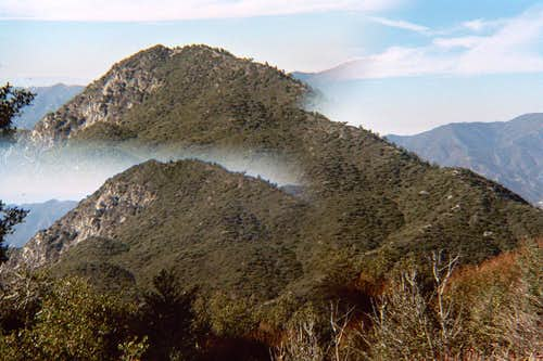 Double Vision:  Strawberry Peak