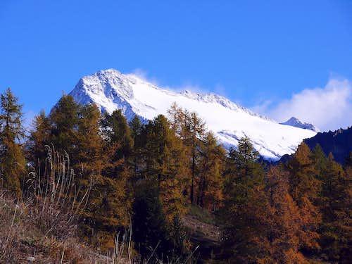 Monte Gelé from Rifugio Crête Sèche