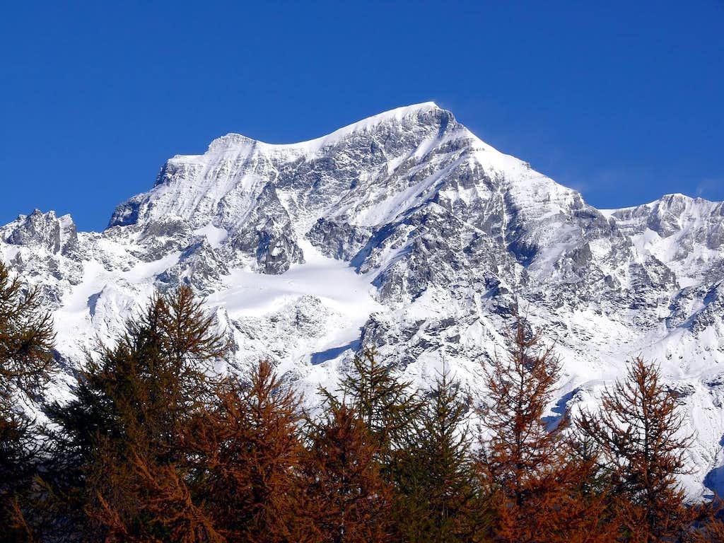 Il Grand Combin 4314 m), versante sud
