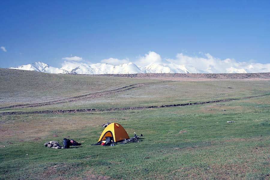 Camp in central Pamir