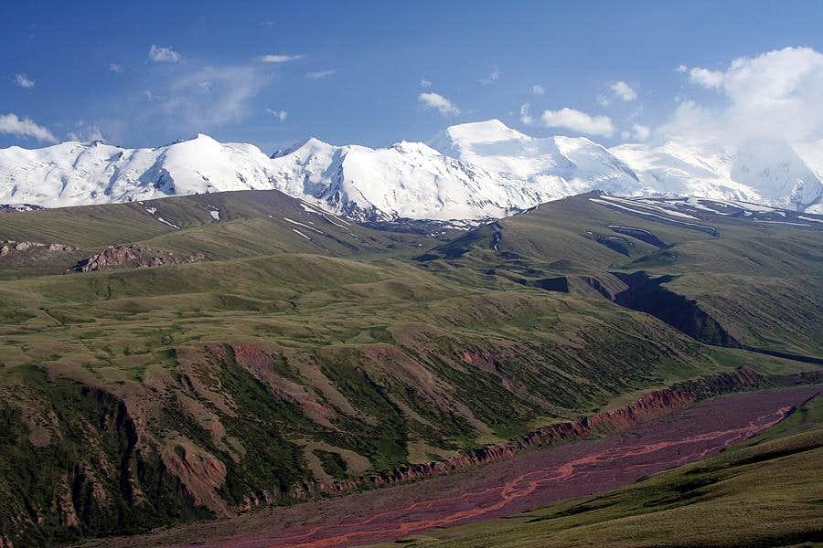 Trans Alai peaks
