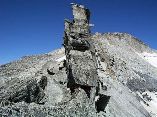 The east ridge of Hochalmspitze