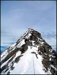 Mont Blanc de Cheilon SW-ridge to the summit