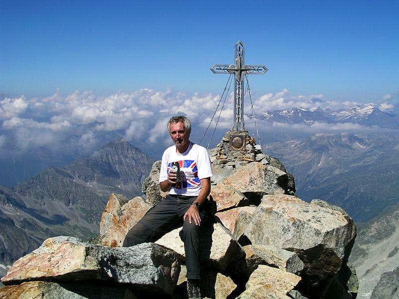 The summit of Hochalmspitze