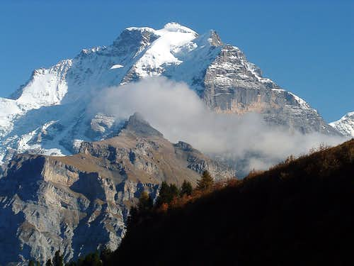 Jungfrau from near Allmendhubel