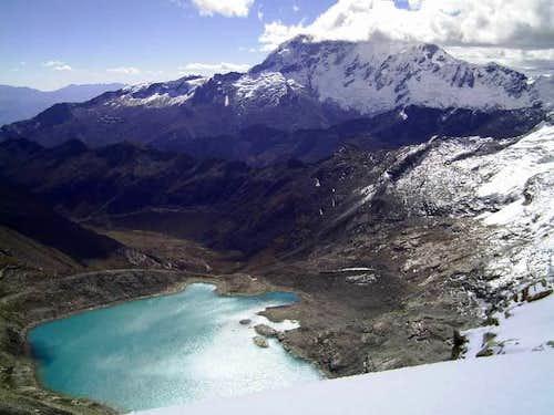 Laguna Akilpo - Cord. Blanca - Perú