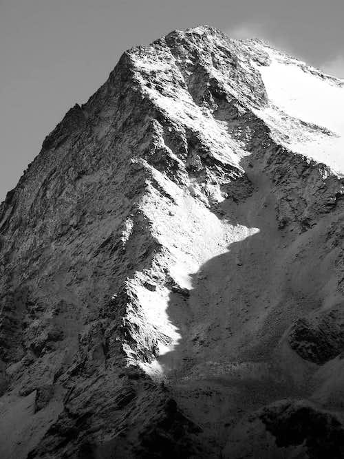 La cresta ovest del mont Gelè (3518 m)