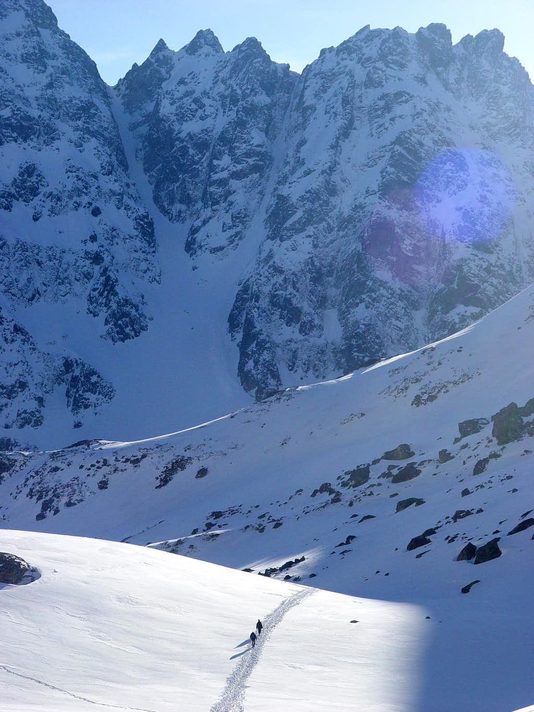 The High Tatras wintery self