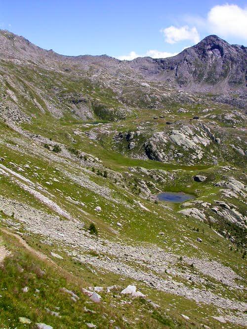 Monte Cornour e conca dei 13 Laghi