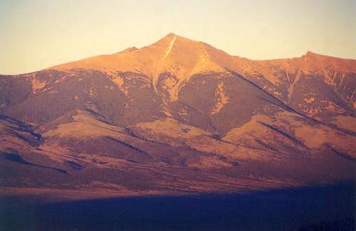 Wheeler Peak as seen with...