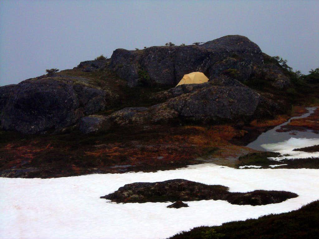 Summit of Mount Jumbo