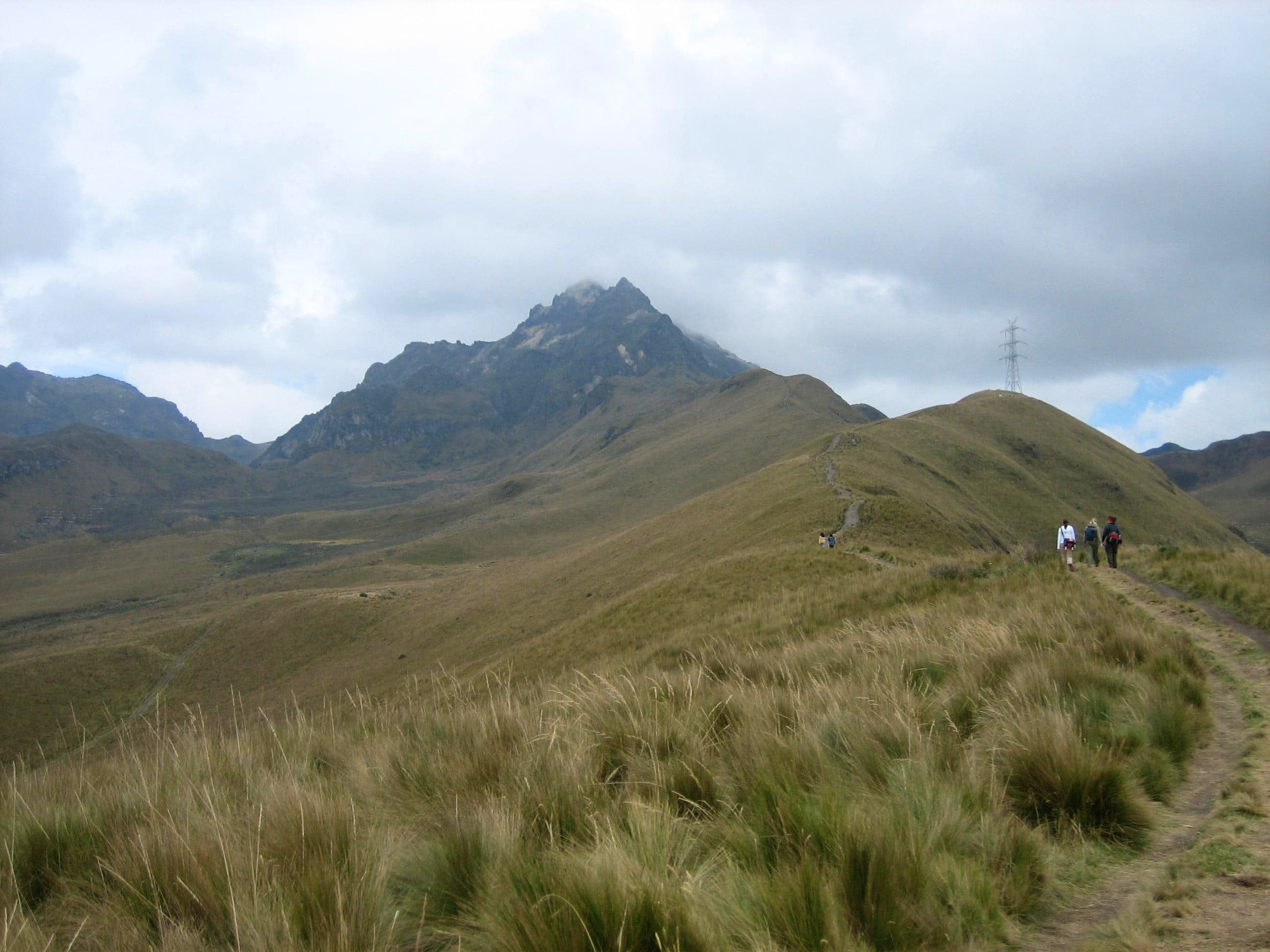 "The ""Three"" Pichinchas- Ecuador Acclimatization Hikes"