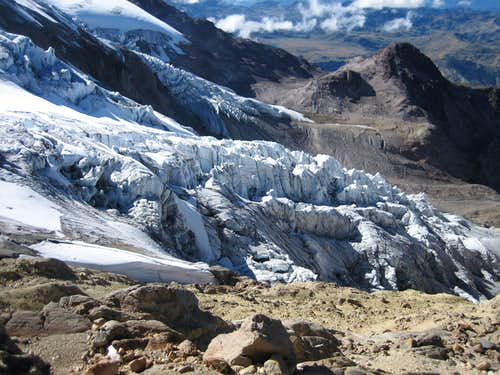 Hermoso glacier