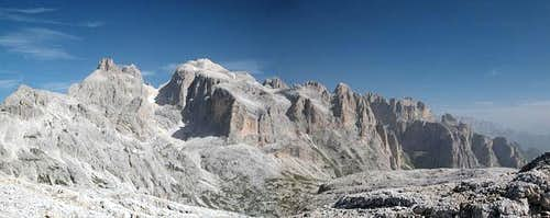 The Northern Chain of the Pale di San Martino Group