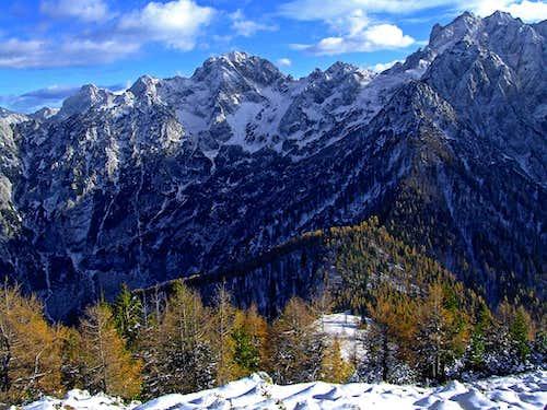 Mrzla gora from Goli vrh