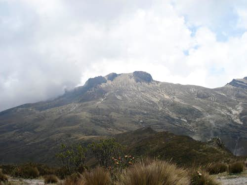 Summit of Padre Encantado (Guagua in Background)