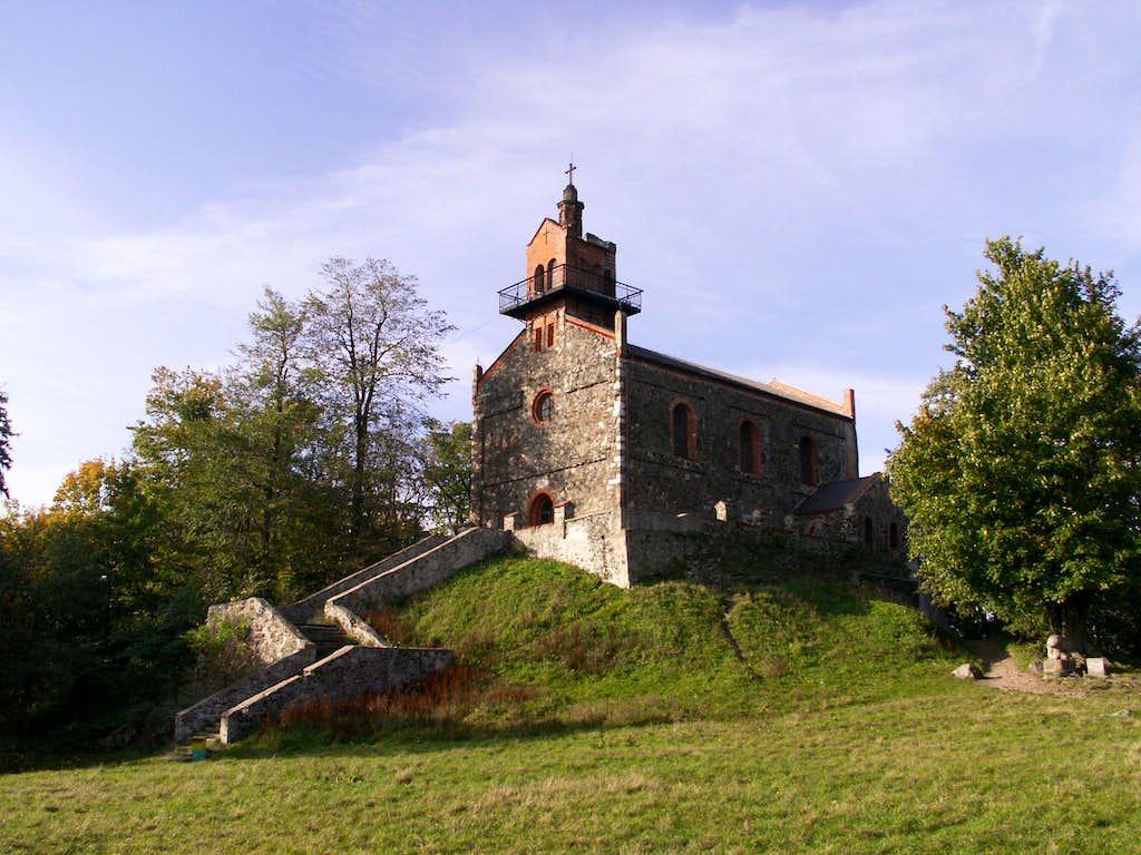 A church...