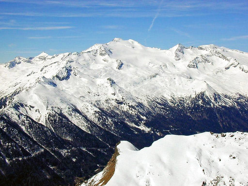 Hochalmspitze from the east