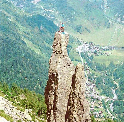 Aiguillette d'Argentiere with...