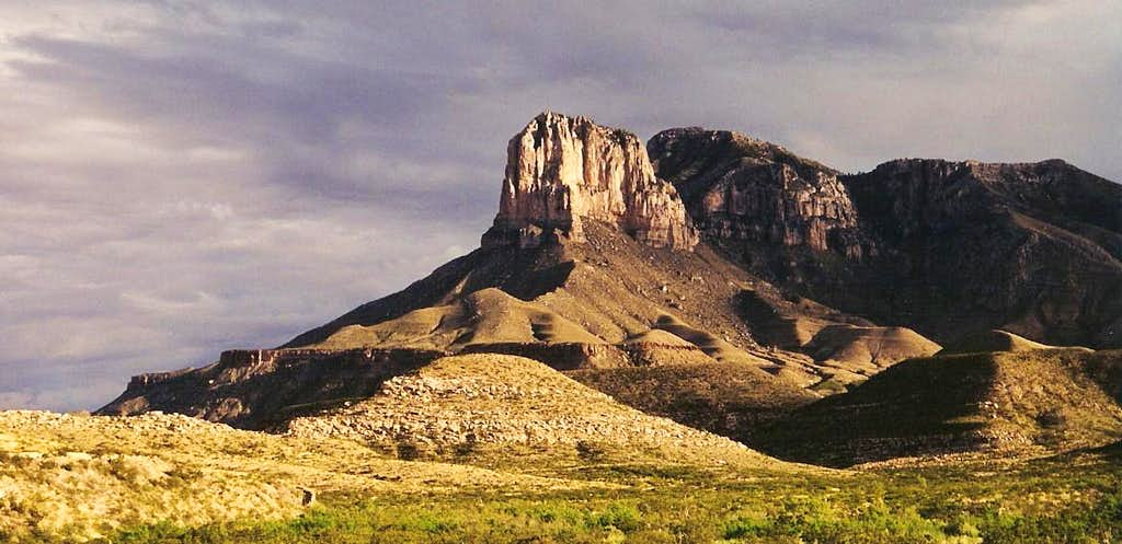 El Capitan and Guadalupe Peak