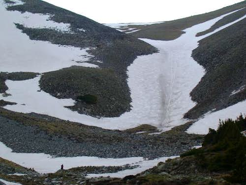 The Angel Snowfield from...