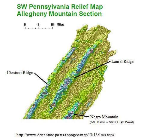 SW PA Allegheny Mountains