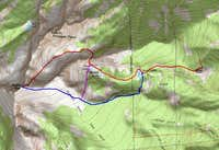 Trapper Peak 3 Routes