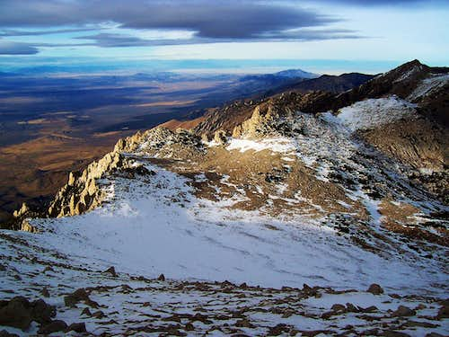 View North from the Summit