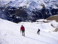 Climbing Huron Peak's northwest face (November 5, 2006)