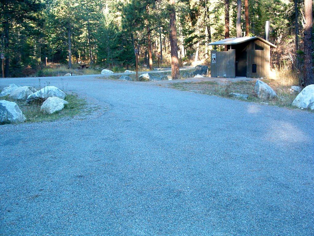 Blodgett Campground Trailhead