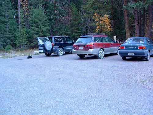 Blodgett Campground Trailhead Parking