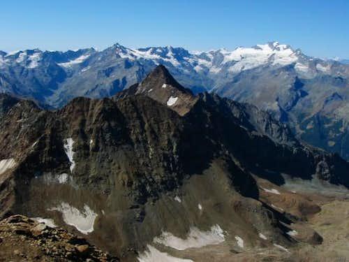 Monte Emilius summitview:...