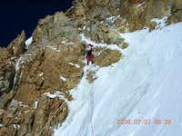 K2 Abruzi climbing route