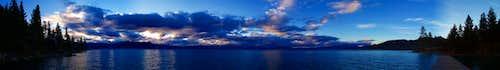 Tahoe Evening Panorama