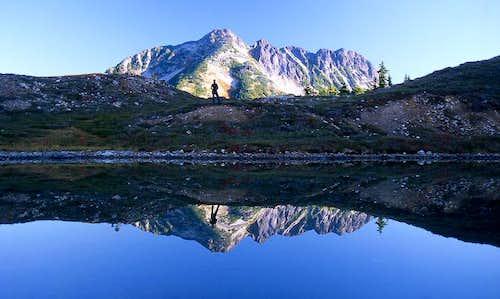 Reflecting at Elusive Lake