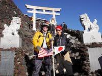 Summiting Mt. Fuji