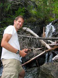 Paul Klenke on Jackita Ridge Trail