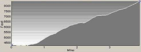 Profile of Mill Point Route