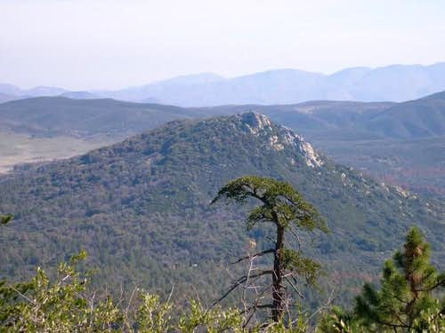 stonewall from cuyamaca peak