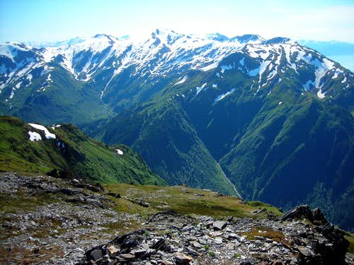 View from Mount Juneau